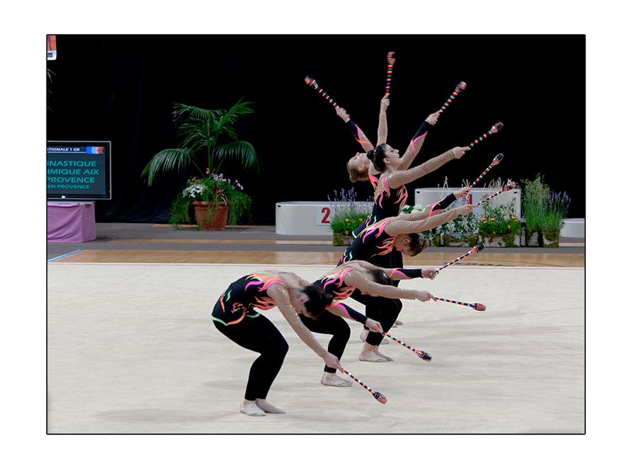 La section compétition